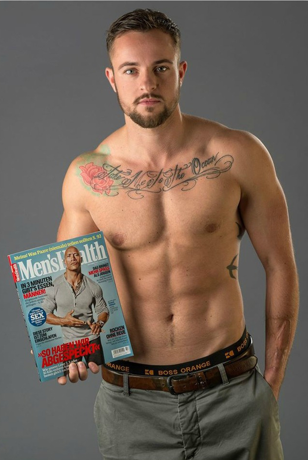 Meet the First Trans Man on the Cover of Men's Health in Europe