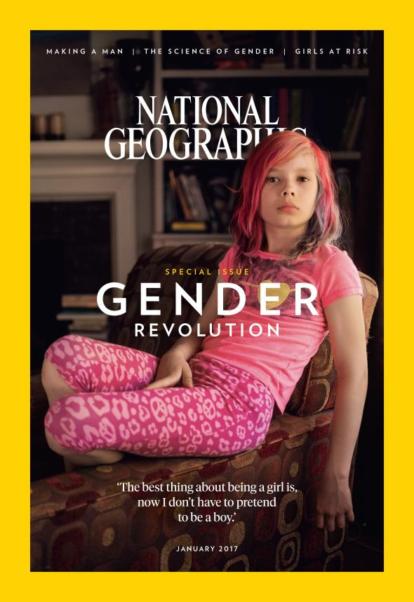 Why National Geographic put a Transgender Girl on Their Cover