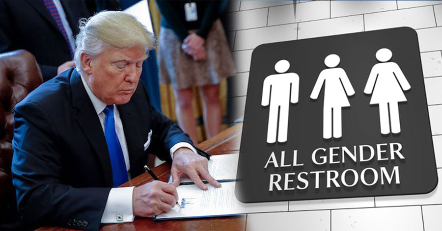 Trump Administration Rolls Back Protections for Transgender Students